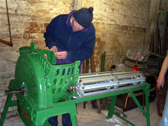 beet shredder re-assembly
