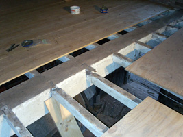 Broken Joists to be repaired