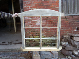 Our first repaired window