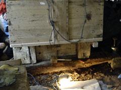 The rotten ground beam