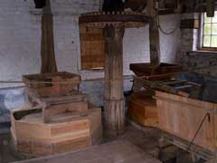 The interior of the mill