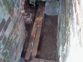 Repairs to the PTO pulley pit