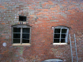 Two windows back in