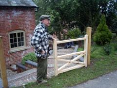 checking a gate