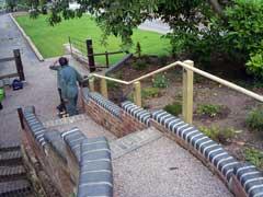 new handrail