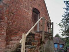 hay loft hand rails