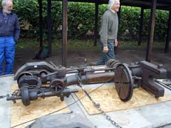 The Denbigh pillar drill arrives