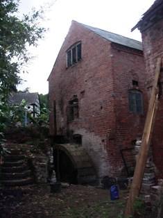 Shelsey watermill in August 2006