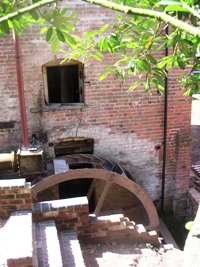 Waterwheel work in progress