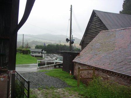 Rain at Shelsley