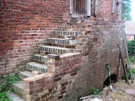 Progress on the hay-loft steps