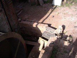 Building steps downwards is tricky